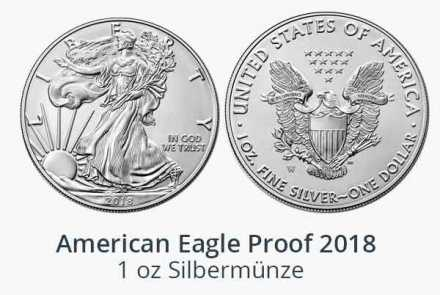 Silver Eagle 1 oz Proof