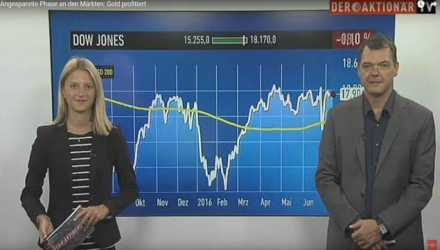 Video: Angespannte Phase an den Märkten: Gold profitiert  Thumb