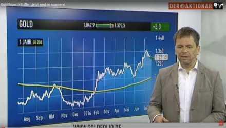 Video: Goldpreis korrigiert sich - Gold-Experte Bußler Thumb