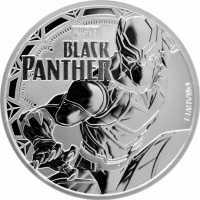 Tuvalu Marvel - Black Panther