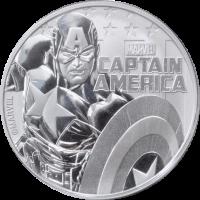Tuvalu Marvel - Captain America