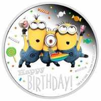Minions - Happy Birthday PP, Coloriert
