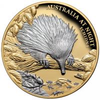 Münze Ameisenigel 1 oz - PP - platinbeschichtet