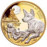 Münze Dingo 1 oz - PP - platinbeschichtet