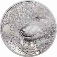 Platin Münze Platin Mystic Wolf 1 oz PP - High Relief 2021 oz 2021 Platin Münze Platin Mystic Wolf 1 oz - High Relief 2021 oz 2021