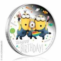 Minions - Happy Birthday Coloriert, PP