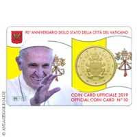 Vatikan  50-Cent Coincard