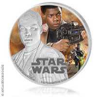 Star Wars Episode VII - Finn PP, Coloriert
