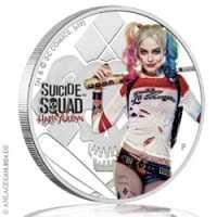Tuvalu Suicide Squad - Harley Quinn Coloriert, PP