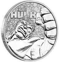 Tuvalu Marvel - Hulk