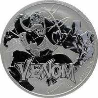 Tuvalu Marvel - Venom