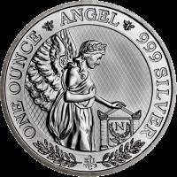 1 Unze Silber St. Helena Napoleon Angel 2021