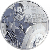 Tuvalu Marvel - Captain America