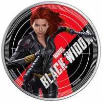 Black Widow Coloriert