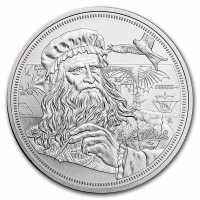 Niue 2021 Icons of Inspiration - da Vinci Silber 1 oz