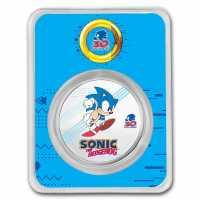 SEGA - Sonic Coloriert, im Blister