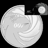 Tuvalu - James Bond 007 im Blister