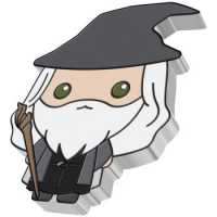 Gandalf the Grey PP, Coloriert