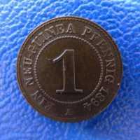 Deutsch Neuguinea 1 Pfennig 1894 tolle Erhaltung ---