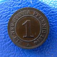 Deutsch Neuguinea 1 Pfennig 1894 Prachtstueck ---