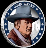 John Wayne PP, Coloriert, mit Etui, Zertifikat