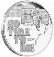James Bond 007 - No Time to Die PP, mit Etui, Zertifikat