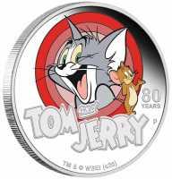 Tom + Jerry -  80 Jahre Coloriert, PP, Box + Zertifikat