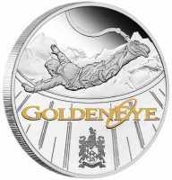 James Bond 007 - Golden Eye, mit Etui, Zertifikat PP