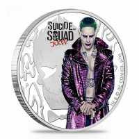 Suicide Squad - Joker mit Etui, Zertifikat, PP, Coloriert