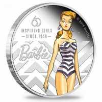 MATTEL - 60 Jahre Barbie Coloriert, PP, Box + Zertifikat