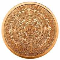 Aztekenkalender Kupfer