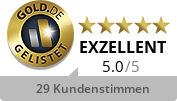 GOLD.DE Zertifikat Inhaber: Herr Marius Baumfalk