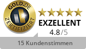 Gold.de Zertifikat Degussa Sonne/Mond Goldhandel GmbH