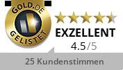 GOLD.DE Zertifikat Goldankauf und Pfandleihhaus Marin GmbH