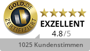Gold.de Zertifikat GoldSilberShop.de GmbH