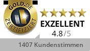 Gold.de Zertifikat Briefmarken Alfa KG - Andreas Heubach