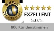 Gold.de Zertifikat Inhaberin Frau Christiane Lohmann e.K.