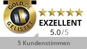 GOLD.DE Zertifikat Inhaberin: Frau Cholnicha Oppinger