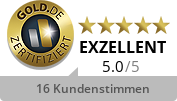 GOLD.DE Zertifikat Inhaber Herr Dirk Wasserthal