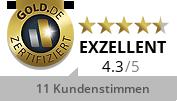 Gold.de Zertifikat SilverBroker GmbH